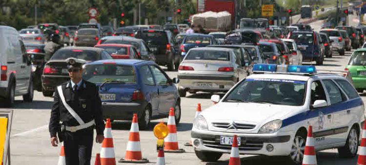 Αυξημένα μέτρα τροχαίας σε όλη την επικράτεια λαμβάνει η Ε.Α., ενόψει του εορτασμού του Δεκαπενταύγουστου