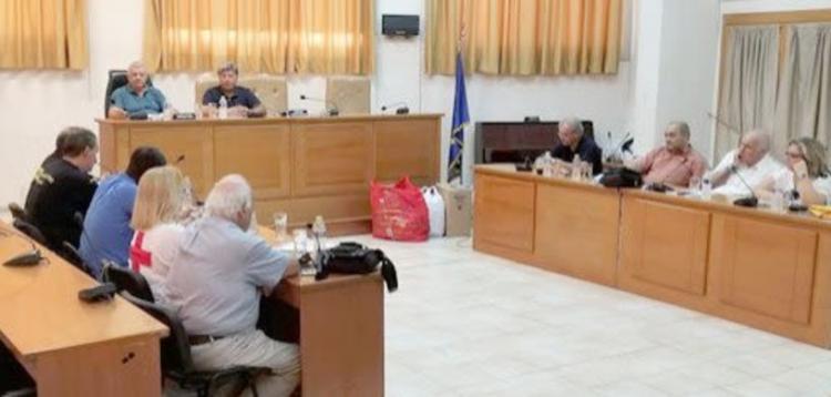 Σύγκλιση Συντονιστικού Τοπικού Οργάνου (ΣΤΟ) Πολιτικής Προστασίας του Δήμου Αλεξάνδρειας