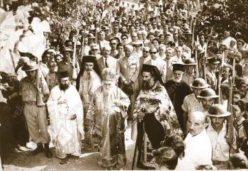 Αύγουστος 1952. Η θαυματουργή εικόνα της Παναγίας Σουμελά φτάνει στη Βέροια