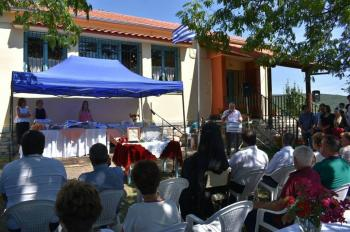 Εγκαίνια και αγιασμός της νέας στέγης του Πολιτιστικού Συλλόγου Κουμαριάς «Η ΝΤΟΛΙΑΝΗ»