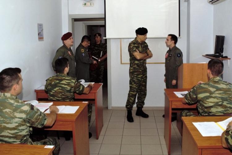 Επίσκεψη σε Μονάδες της Αεροπορίας Στρατού στην Ημαθία πραγματοποίησε ο Α/ΓΕΣ Αλκιβιάδης Στεφανής