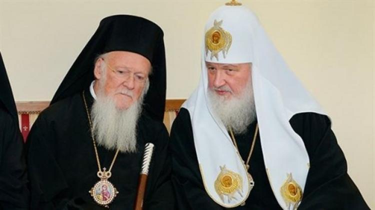 Συνάντηση του Οικουμενικού Πατριάρχη Βαρθολομαίου με τον Πατριάρχη Μόσχας Κύριλλο στο Φανάρι