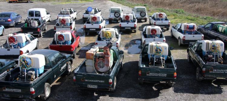 Ψεκασμοί σήμερα στις Τ.Κ. Νεοκάστρου & Κεφαλοχωρίου για την καταπολέμηση των ακμαίων κουνουπιών