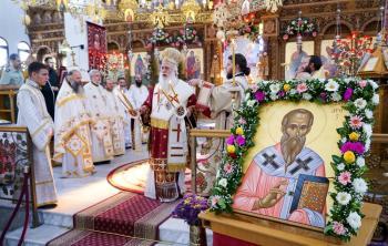 Πανηγύρισε ο Ιερός Ναός Αγίου Αλεξάνδρου Αλεξανδρείας