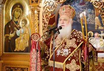 Τελέστηκε το 40νθήμερο μνημόσυνο της μεγάλης ευεργέτιδος της Ι.Μ. Παναγίας Δοβρά μακαριστής Αγ. Κορφιωτάκη