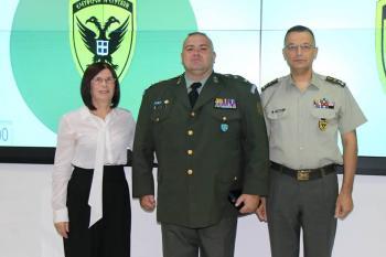 «Είμαστε περήφανοι» για τον Ημαθιώτη αντισυνταγματάρχη Θόδωρο Σαλίμκα!