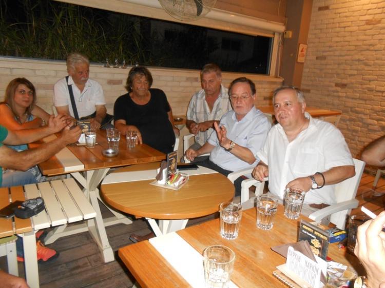 Η Βέροια πρώτος σταθμός της περιοδείας Λαφαζάνη στη Μακεδονία