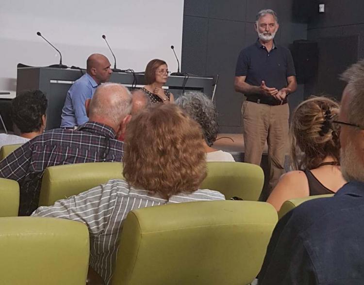 Συνάντηση φορέων με τη νέα υπουργό Πολιτισμού Μυρσίνη Ζορμπά