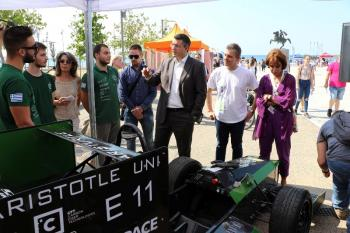 Περισσότεροι από 4.000 επισκέπτες στο «πράσινο πάρτι» «Voltάρω 2018» της Π.Κ.Μ. στη νέα παραλία Θεσσαλονίκης