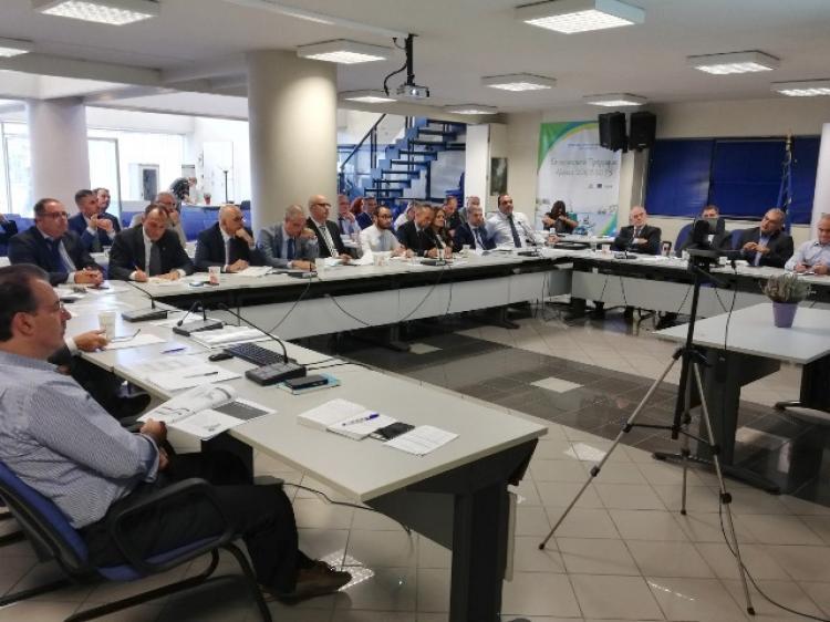 Συνάντηση Ειδικής Υπηρεσίας Διαχείρισης του ΠΑΑ 2014 - 2020 και εκπροσώπων των χρηματοπιστωτικών ιδρυμάτων