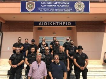 Εκπαίδευση ειδικών ομάδων της Κεντρικής Μακεδονίας με πρωτοβουλία της Ένωσης Αστυνομικών Ημαθίας