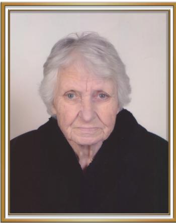 Σε ηλικία 89 ετών έφυγε από τη ζωή η ΜΑΡΙΑ ΘΩΜΑ. ΞΑΝΘΟΠΟΥΛΟΥ