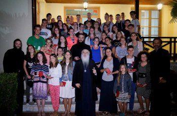 Φιλοξενία παιδιών και νέων από την Ιερά Μητρόπολη Νις στην Ιερά Μητρόπολη Βεροίας