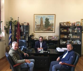 Σύμβαση για τη συντήρηση του οδικού δικτύου των Δ.Ε. Απ. Παύλου, Βεργίνας, Δοβρά και Μακεδονίδος υπέγραψε ο Δ.Βέροιας