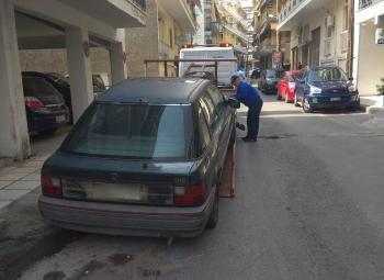 Άλλo ένα εγκαταλειμμένο όχημα απομακρύνθηκε από τη Διεύθυνση της Δημοτικής Αστυνομίας Βέροιας
