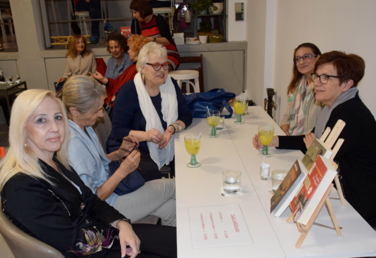 Συνάντηση γνωριμίας και συζήτησης της Νόρας Πυλόρωφ με το βιβλιόφιλο κοινό της Βέροιας
