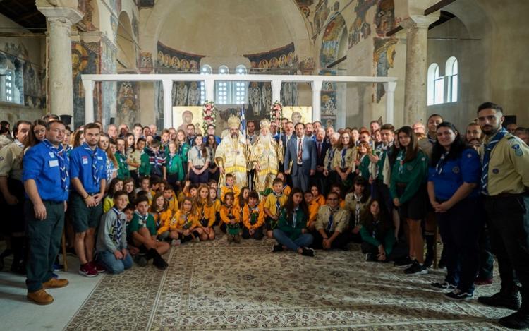 Αρχιερατικό Συλλείτουργο στον παλαιά Μητρόπολη Βεροίας. Εορτάστηκαν τα «100 χρόνια» του προσκοπισμού στη Βέροια