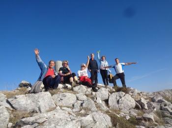 ΒΕΡΜΙΟ, Κορυφή ( Αγκάθι ) 1650μ, Κυριακή 7 Οκτωβρίου  2015 με τους ορειβάτες Βέροιας