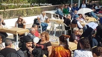 Με επιτυχία πραγματοποιήθηκε η 3η Εκδήλωση Παραδοσιακής Παραγωγής Τσίπουρου Αγίας Βαρβάρας