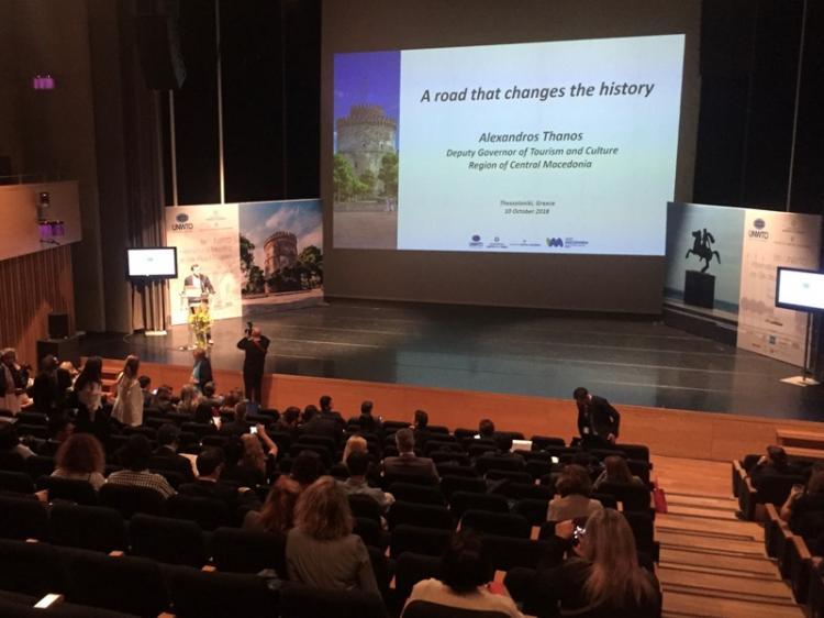 Σε εξέλιξη στη Θεσσαλονίκη το παγκόσμιο συνέδριο τουρισμού «Δρόμος του Μεταξιού»