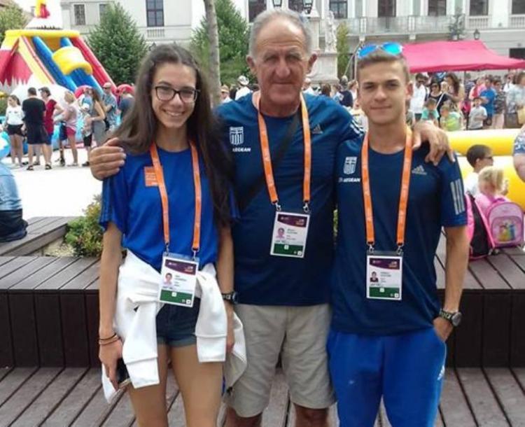 Μπήκαν στη μάχη των ολυμπιακών οι βεροιώτες αθλητές του στίβου Κελεπούρης και Ιωαννίδου