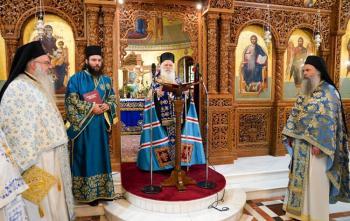 Δοξολογία με την ευκαιρία του εορτασμού του Μακεδονικού Αγώνος στον Ι.Ν. Αγ. Αντωνίου πολιούχου Βεροίας