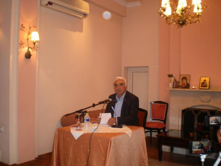 Μ.Χαλκίδης :  «Θα ανατρέψουμε όλα όσα μας ενοχλούν, ανοίγοντας διάλογο με τους πολίτες»