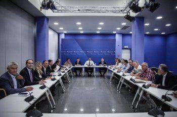 Συνάντηση Μητσοτάκη με 18 βουλευτές της Β. Ελλάδας, μεταξύ των οποίων ο Απ. Βεσυρόπουλος