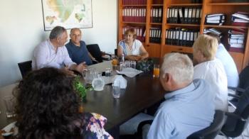 Επίσκεψη αντιπροσωπείας Βουλγάρικης Ομάδας Τοπικής Δράσης στην ΑΝ.ΗΜΑ. Α.Ε.