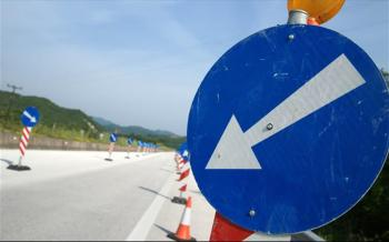 Προσωρινές κυκλοφοριακές ρυθμίσεις επί της Εγνατίας Οδού, λόγω απαραίτητων ασφαλτικών εργασιών