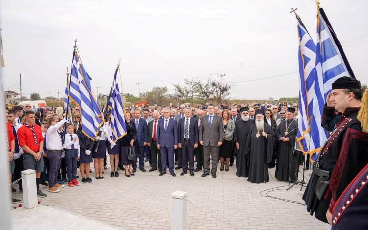 Εορτάστηκε η 106η επέτειος απελευθέρωσης της Χαλάστρας