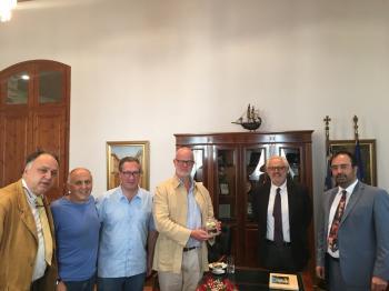 Συνάντηση Κ.Βοργιαζίδη - George Windsor - Δ.Τόλιου - Ν. και Π. Αναγκωστόπουλου