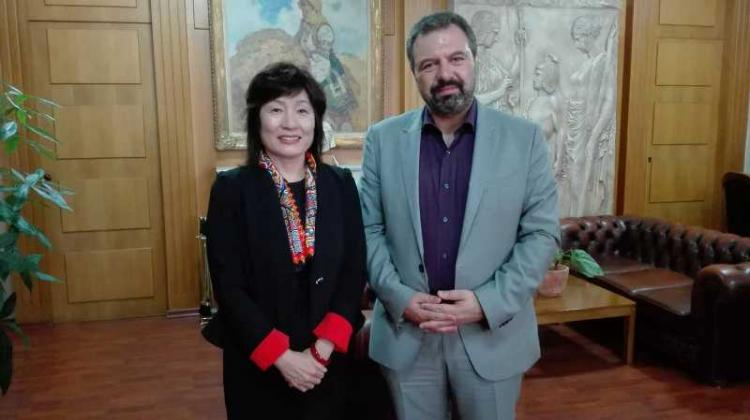 Συνάντηση υπουργού Αγροτικής Ανάπτυξης και Τροφίμων με την πρέσβειρα της Κίνας