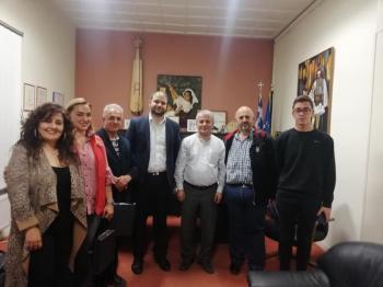 Επίσκεψη του κ. Kenan Aydin στην Εύξεινο Λέσχη Ποντίων Νάουσας