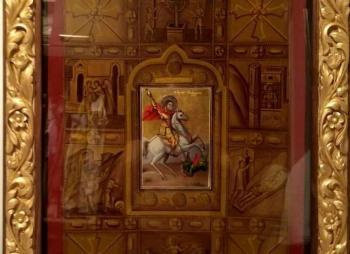 Θεία Λειτουργία το Σάββατο στην Ιερά Μονή «Αγίου Γεωργίου Περιστερώτα» στο Ροδοχώρι Νάουσας