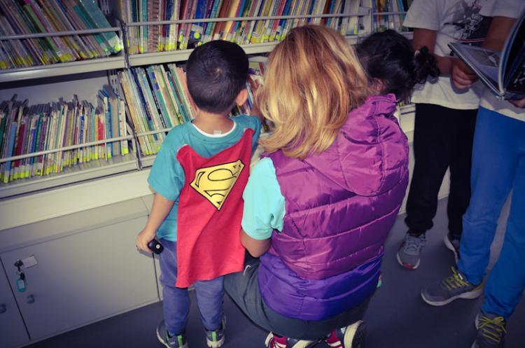 Πρόγραμμα κίνησης κινητής βιβλιοθήκης δημόσιας βιβλιοθήκης Βέροιας Νοεμβρίου 2018