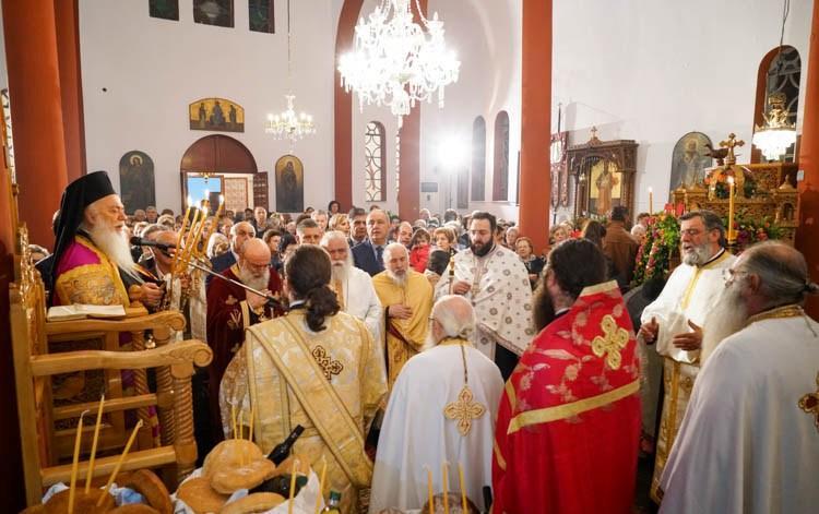 Πανηγυρικός Εσπερινός στον Ιερό Ναό Αγίου Νεκταρίου Κυμίνων