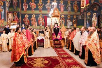 Πανηγυρικός Αρχιερατικός Εσπερινός στον Ιερό Ναό του Αγίου Μηνά Ναούσης
