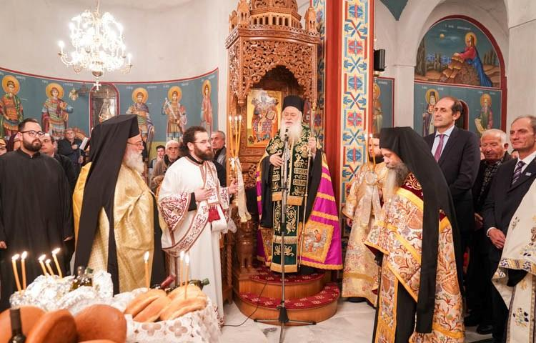 Πανηγύρισε ο Ιερός Ναός του Αγίου Αρσενίου του Καππαδόκου στο Πλατύ Ημαθίας