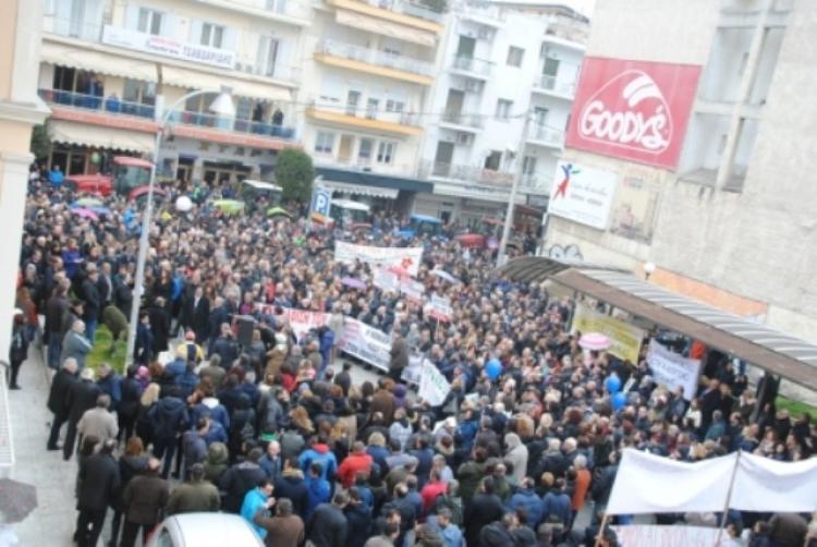 Κάλεσμα συμμετοχής από το Ν.Τ ΑΔΕΔΥ Ημαθίας στη συγκέντρωση διαμαρτυρίας την Τετάρτη στην πλατεία Δημαρχείου Βέροιας
