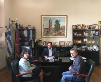 Συμπληρωματική σύμβαση για ολοκλήρωση μελέτης υπέγραψε ο δήμαρχος Βέροιας