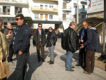 Με ισχνή συμμετοχή η χθεσινή συγκέντρωση διαμαρτυρίας στην πλατεία Δημαρχείου Βέροιας