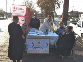 Στοχευμένη δράση για την Παγκόσμια Ημέρα Διαβήτη στην πλατεία Αγίου Γεωργίου Δήμου Αλεξάνδρειας