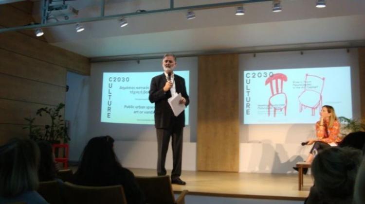«Meeting/Συνάντηση: Πολιτισμός 2030» - Γράφει ο πρόεδρος του ΔΗ.ΠΕ.ΘΕ. Νίκος Μαυροκεφαλίδης