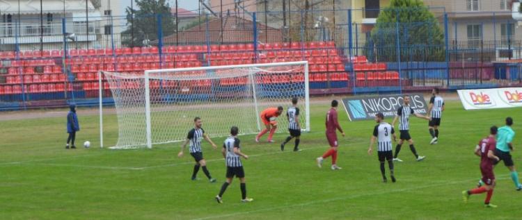 BEΡΟΙΑ – ΝΙΚΗ ΑΓΚΑΘΙΑΣ 0-1, Κρίθηκε στη δύναμη