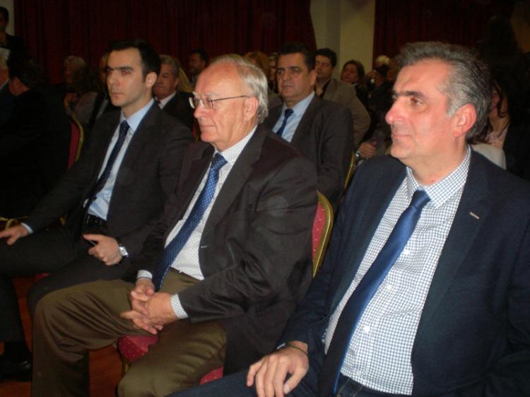 Για τις προκλήσεις του νέου μοντέλου Τ.Α. στη σημερινή εποχή μίλησε στη Βέροια ο γραμματέας ΚΟ της ΝΔ Κ. Τσιάρας