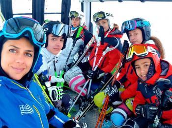 Προετοιμασία αθλητών του Αλπικού Σκι του ΕΟΣ Νάουσας στην Αυστρία
