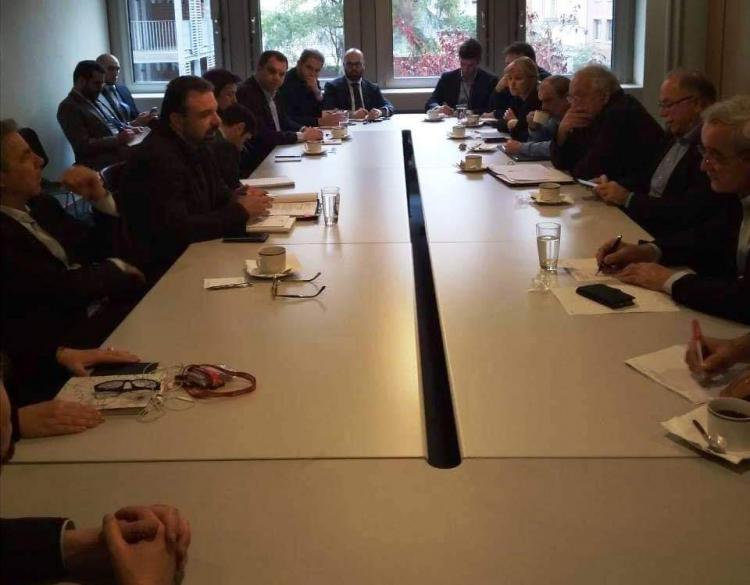 Συνάντηση ΥΠΑΑΤ με τους Έλληνες ευρωβουλευτές και τη Μόνιμη Ελληνική Αντιπροσωπεία