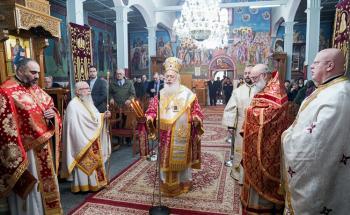 H εορτή της Αγίας Μεγαλομάρτυρος Αικατερίνης της Πανσόφου στη Βραχιά