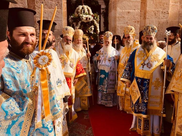 Επίσκεψη του Σεβασμιωτάτου στα Χανιά για την εορτή των Εισοδίων της Θεοτόκου